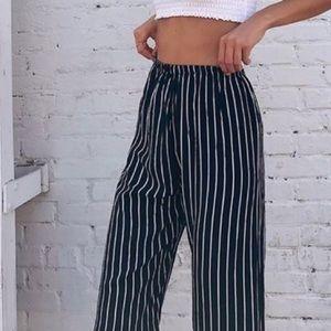 Brandy flowy pants